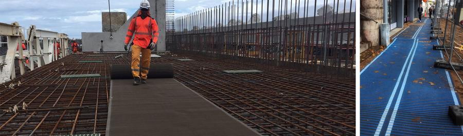 tapis accessibilité pour chantier
